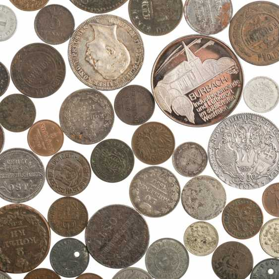 Interesting collection of coins, medals and banknotes - photo 2