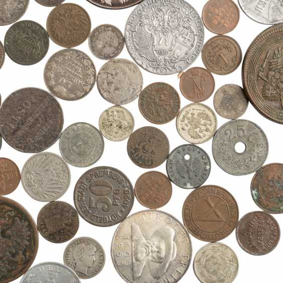 Interesting collection of coins, medals and banknotes - photo 3