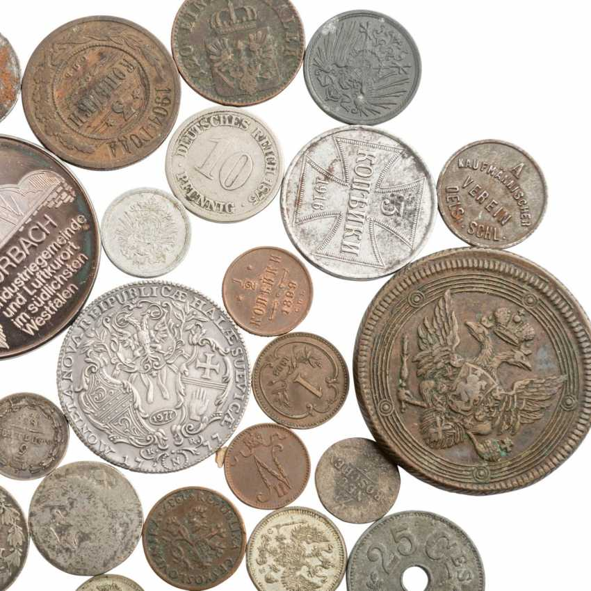 Interesting collection of coins, medals and banknotes - photo 5