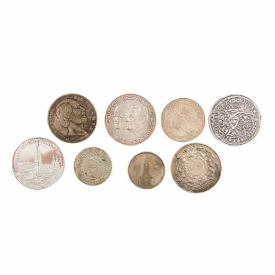 Collection of coins, silver coins theme - photo 3