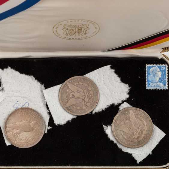 Collection of coins, silver coins theme - photo 5