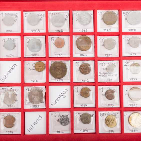 A number of coins from all over the world in 2 suitcases with SILVER - photo 2