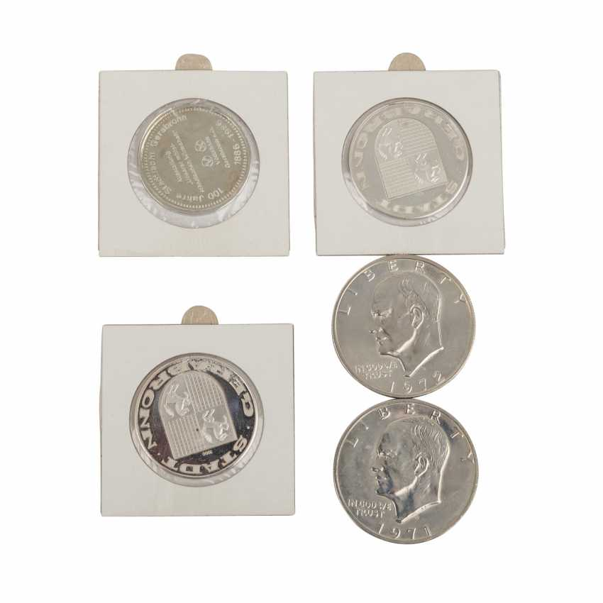 Collection of coins in Album with SILVER - - photo 2