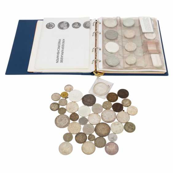 Mixed lot of silver coins, especially Germany, - photo 1