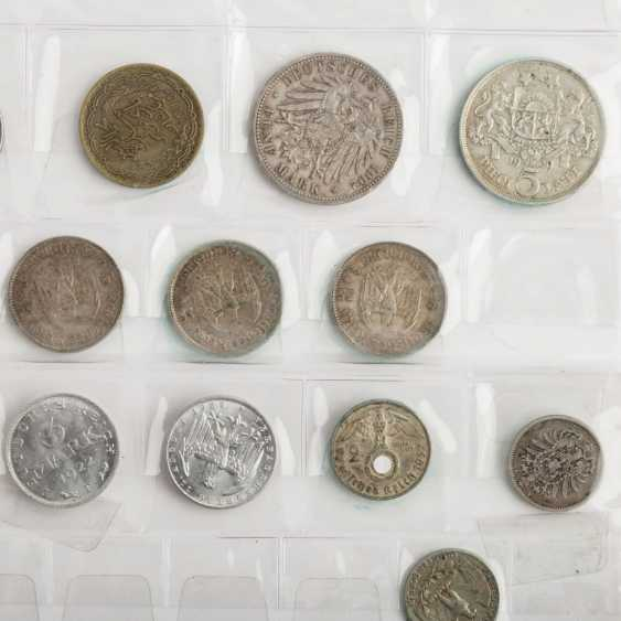 Mixed lot of silver coins and more - - photo 2