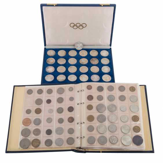 Collection of coins and medals, with SILVER in the process - photo 1