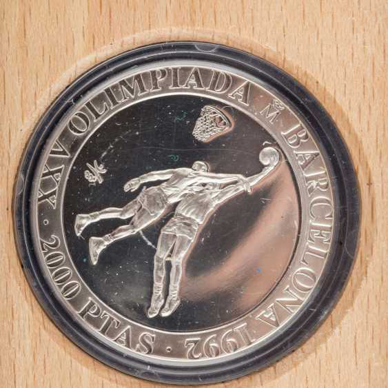 """Silver commemorative coins of the theme of """"Olympic games""""- - photo 6"""
