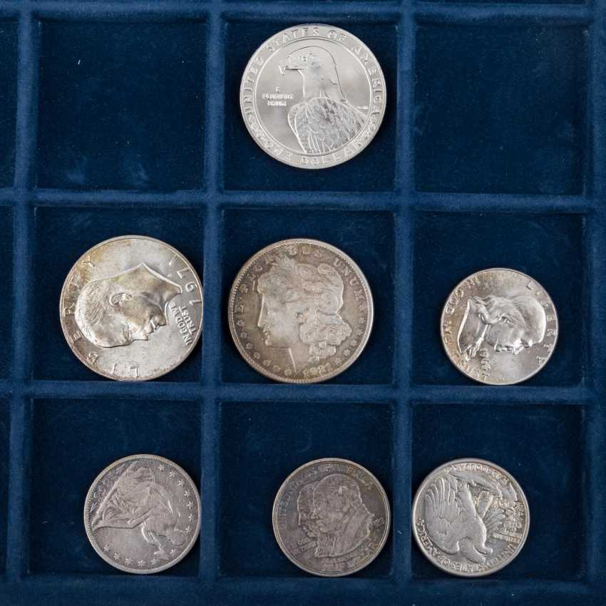 USA - small collection of 18 coins, - photo 2
