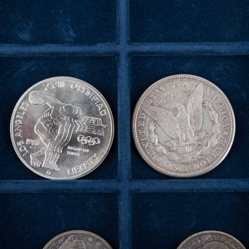 USA - small collection of 18 coins, - photo 6