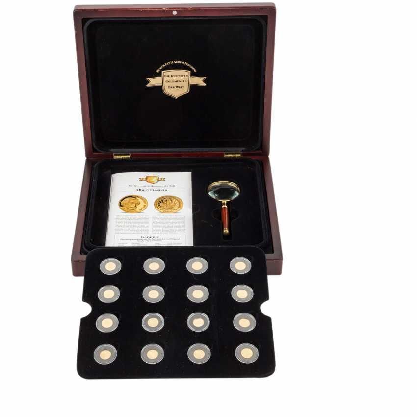 The smallest gold coins of the world - - photo 1