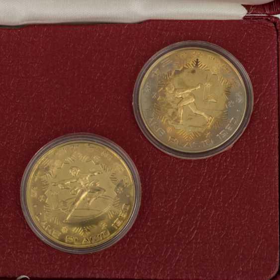 China - 8 x 1 Yuan 1980, Messing, - Foto 5