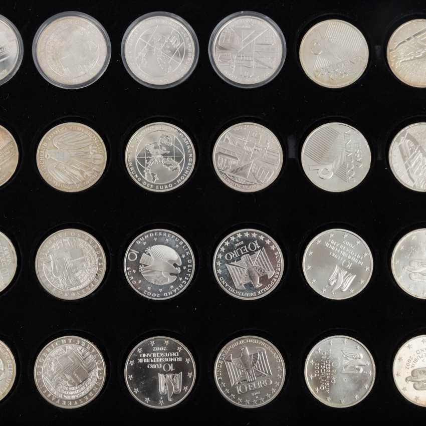 BRD евро - набор 48 x 10 евро из 2001/7, - фото 4