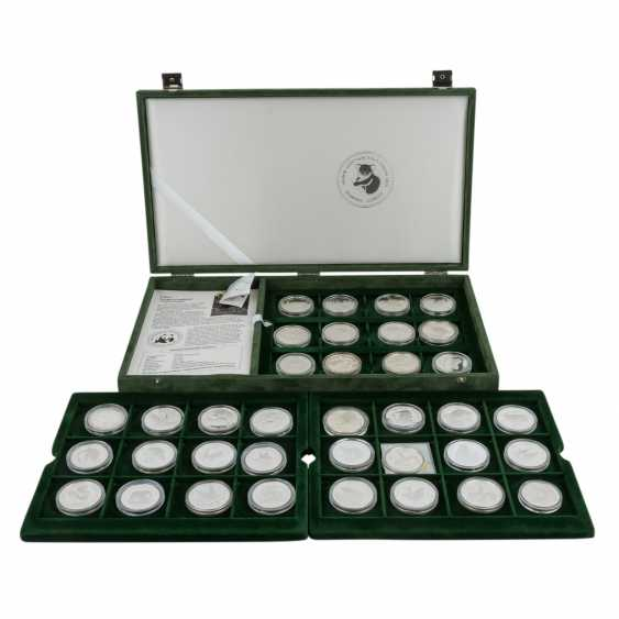 WWF - collection of 36 silver coins, - photo 1
