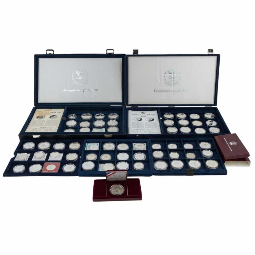 Olympic games 1988 - collection in two special boxes, - photo 1