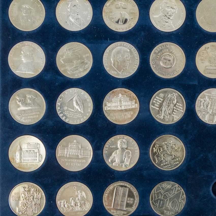 DDR - collection of about 80 coins, - photo 3