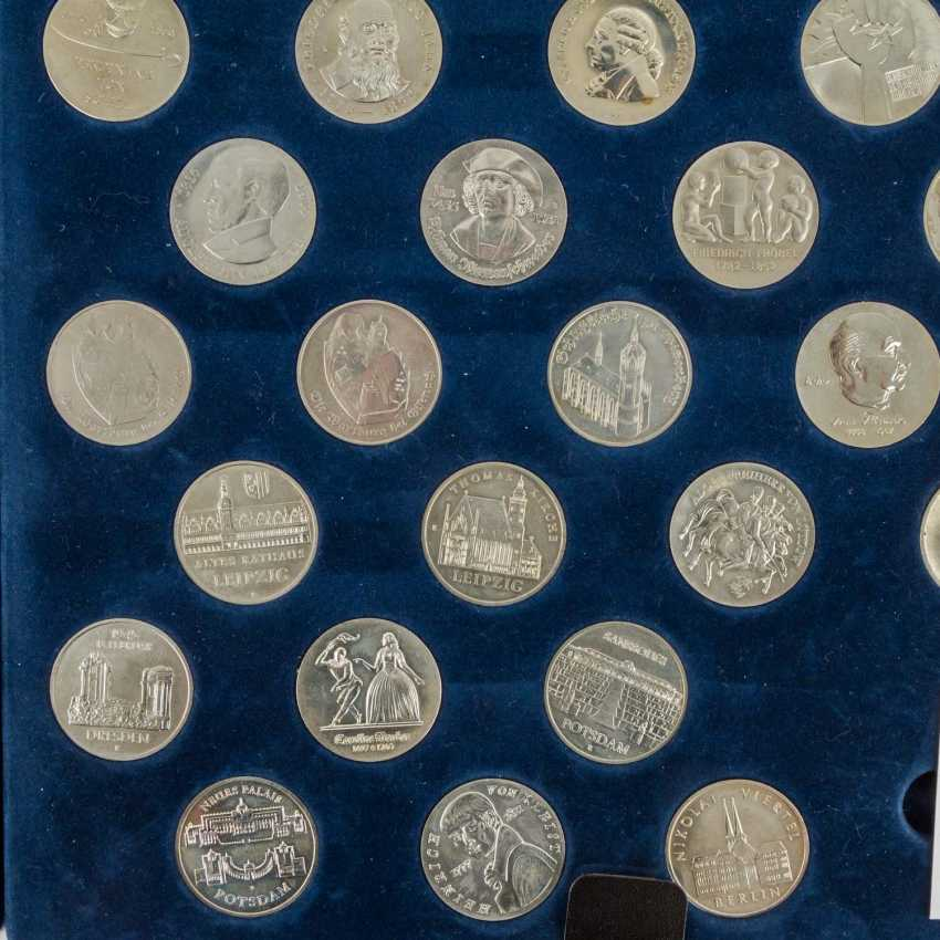 DDR - collection of about 80 coins, - photo 4