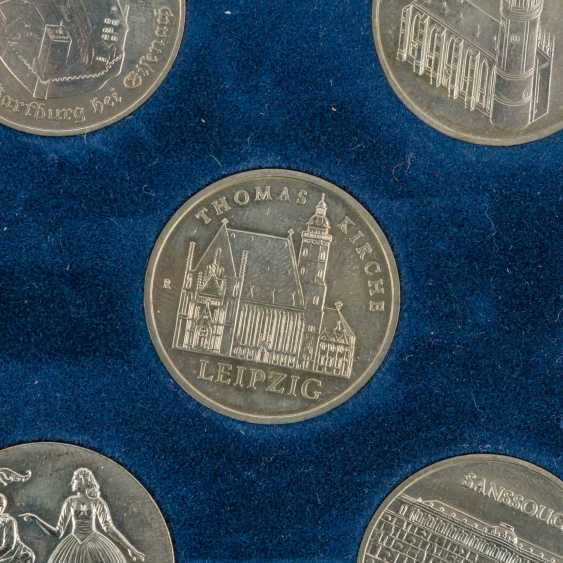 DDR - collection of about 80 coins, - photo 5