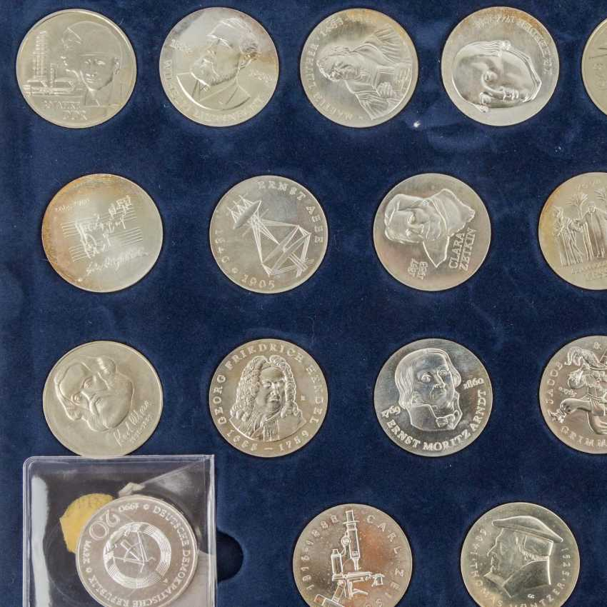 DDR - collection of about 80 coins, - photo 6