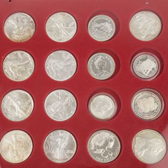 SILVER solder with, among others, Austria 48 x 500 shillings, - photo 5