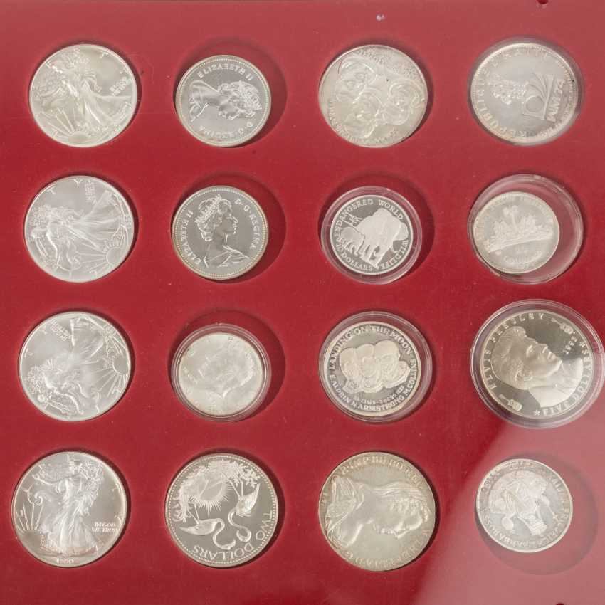 SILVER solder with, among others, Austria 48 x 500 shillings, - photo 6
