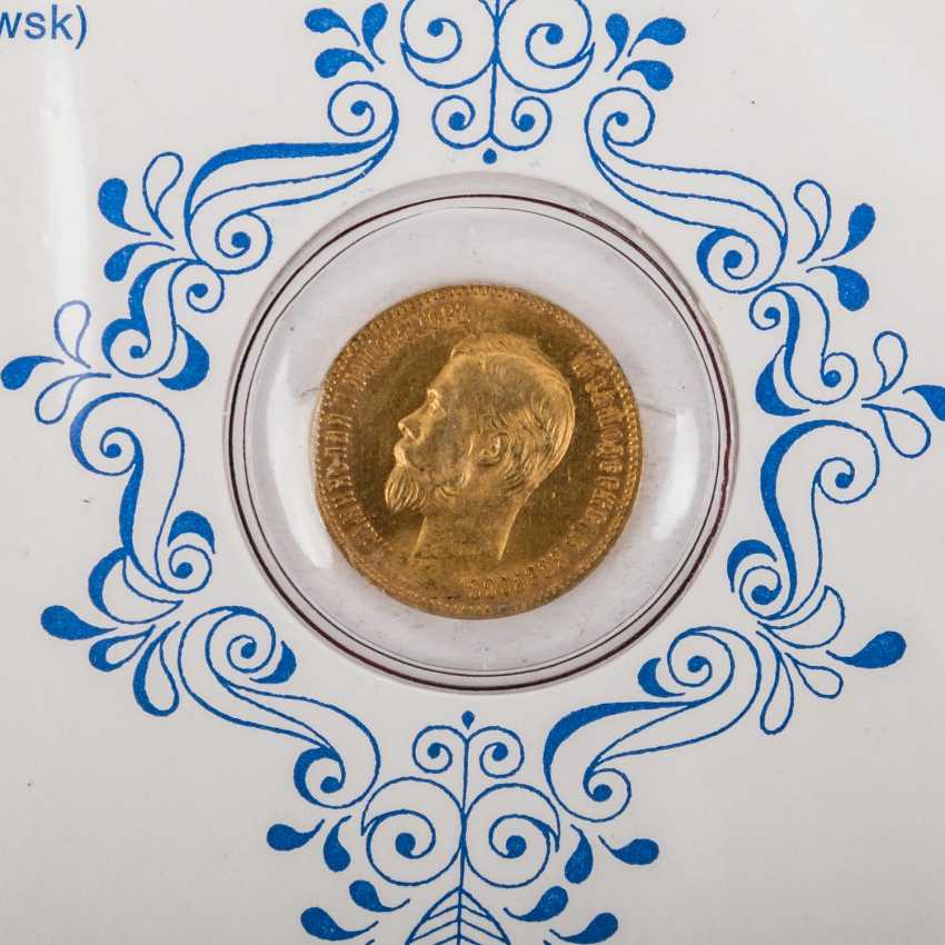 Russia - lot of 6 gold coins, - photo 5