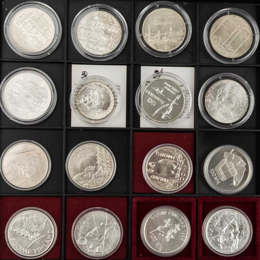 Coin tower with 6 panels, with some SILVER, - photo 5