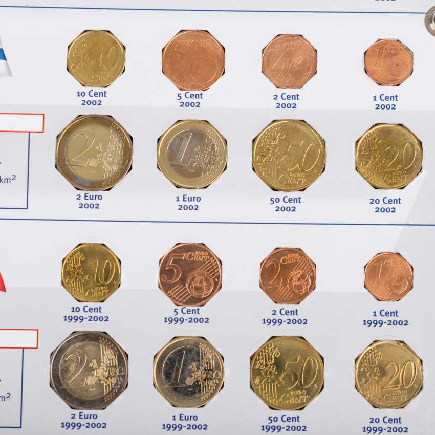 The rest of the collection with, among other things, Euro coins, hole coins - photo 3