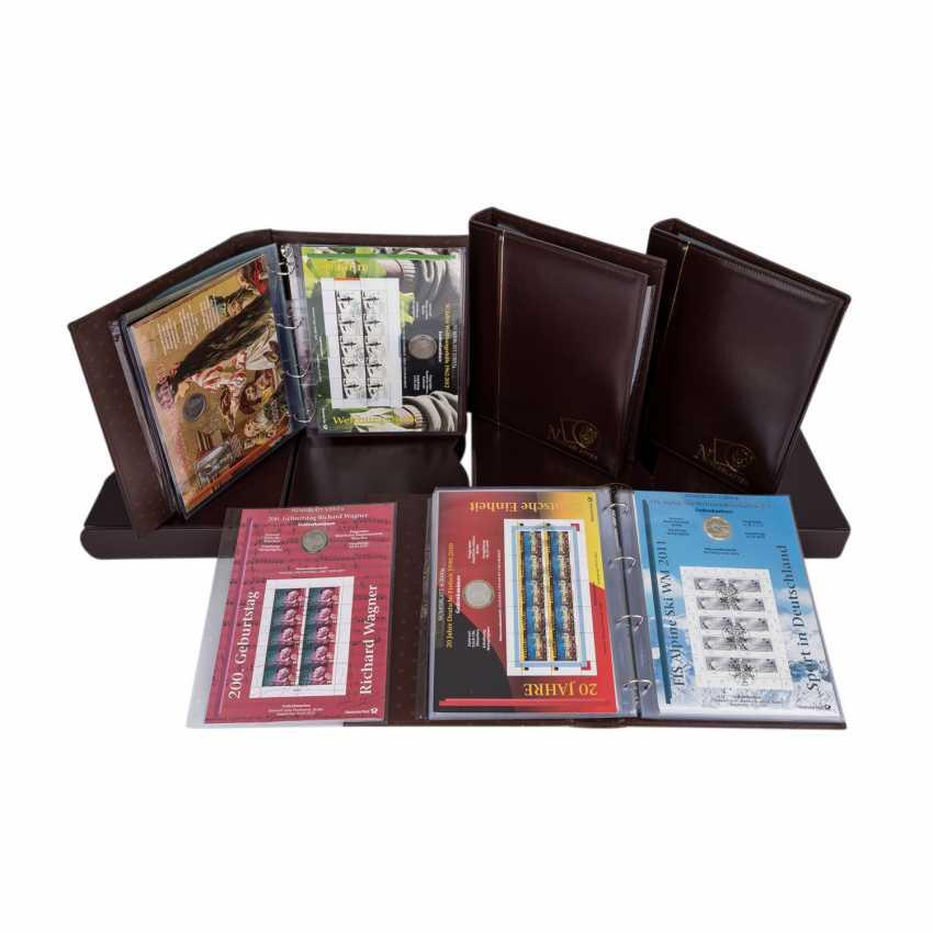Numisbriefe mit 26 x 10 Euro, - Foto 1
