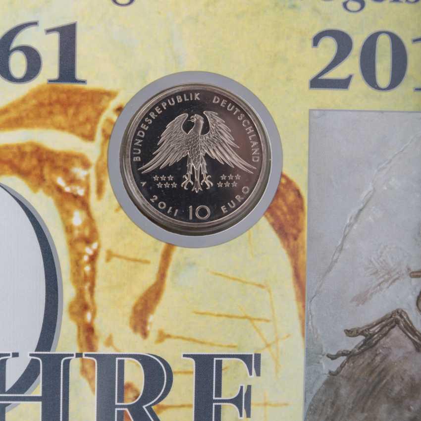 Numisbriefe mit 26 x 10 Euro, - Foto 2