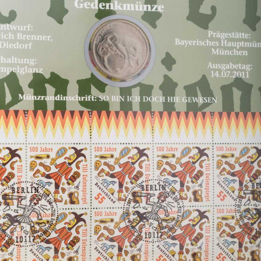 Numisbriefe mit 26 x 10 Euro, - Foto 3