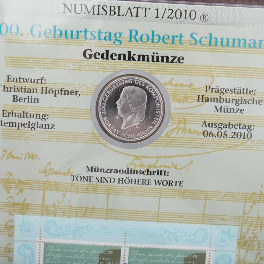 Numisbriefe mit 26 x 10 Euro, - Foto 4