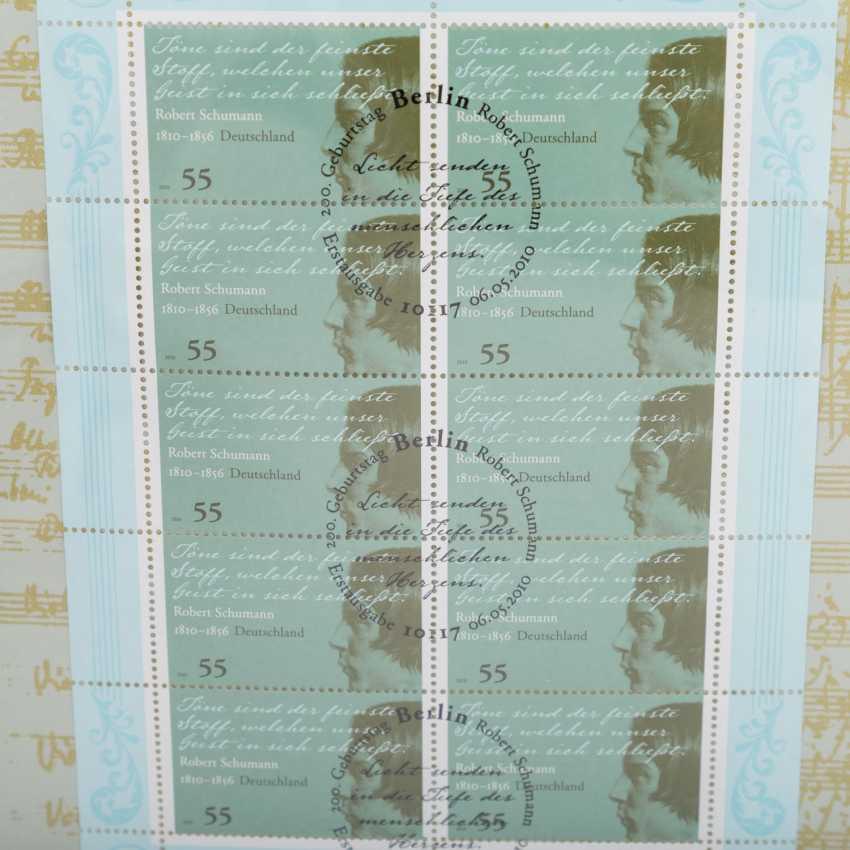 Numisbriefe mit 26 x 10 Euro, - Foto 5
