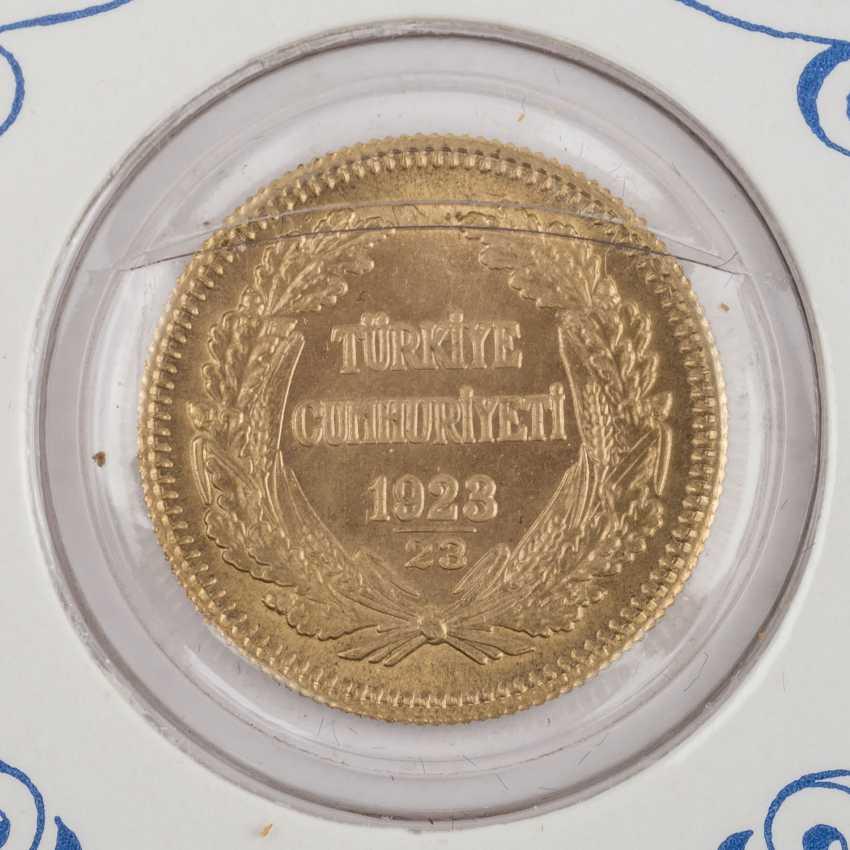 Turkey - 6 x 100 piasters. 1861/1950, - photo 3