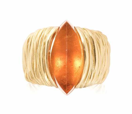 Philippe Pfeiffer Mandaringranat-Ring - photo 1