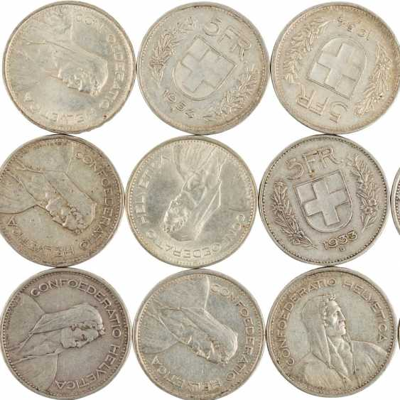 Historical collection of the United States, Switzerland, and Dt. Empire SILVER - - photo 2