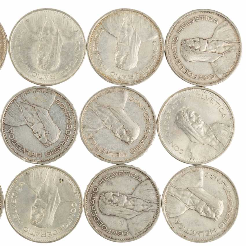 Historical collection of the United States, Switzerland, and Dt. Empire SILVER - - photo 3