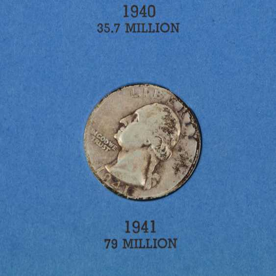 Historical collection of the United States, Switzerland, and Dt. Empire SILVER - - photo 5