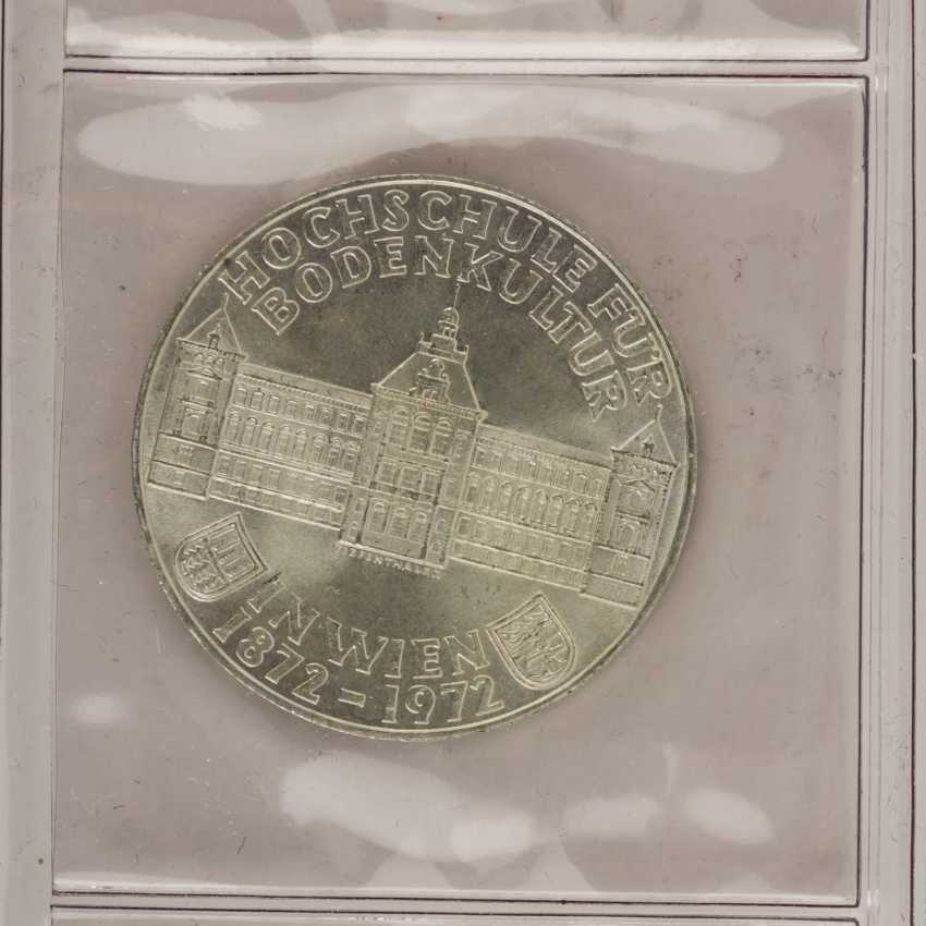 Silver solder with Austria, 500, 100, 50, 25 shillings, - photo 6