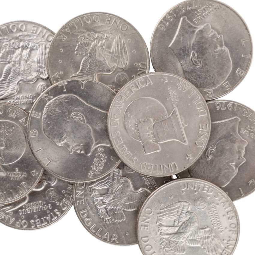 Group, focus on the USA - This is a rare Morgan Dollar 1878 CC, - photo 4