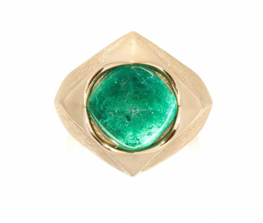Philippe Pfeiffer Emerald Ring - photo 1
