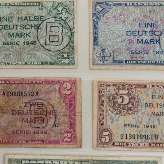 Collection of coins and Bank notes, Dt. Empire to Germany - - photo 2