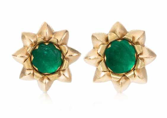 Philippe Pfeiffer Emerald Clip-On Earrings - photo 1