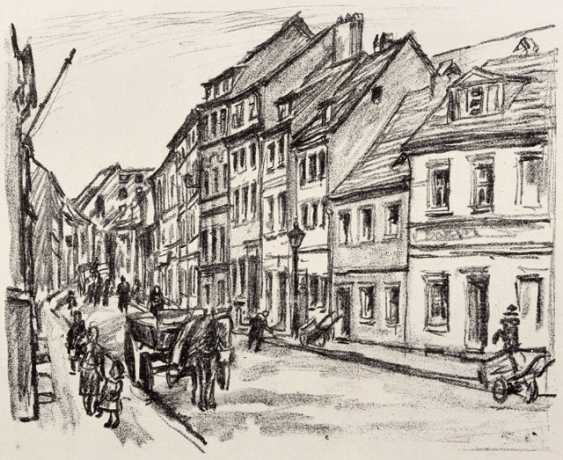 """Group: graphics of the """"November group, the Berlin 1919"""" - photo 10"""