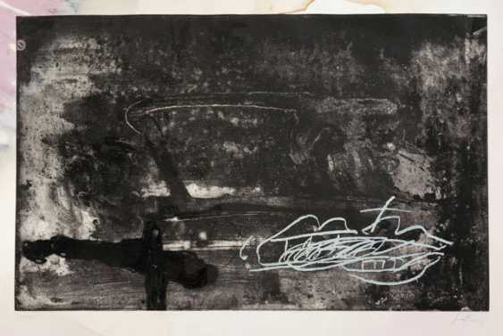 Group of 15 water-damaged graphics - photo 1