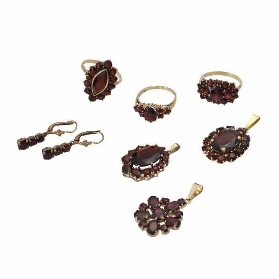 Jewelry mixed lot of 14 pieces, - photo 4