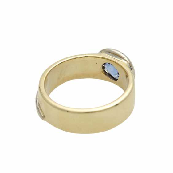 Ring mit Saphir ca. 1,5 ct, - photo 3
