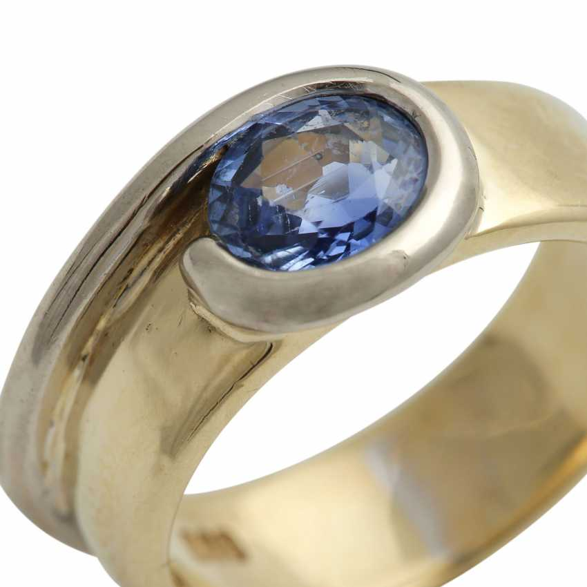 Ring mit Saphir ca. 1,5 ct, - photo 5