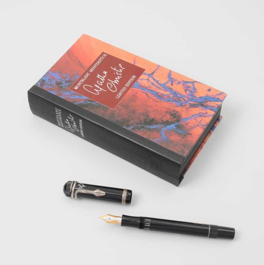 """Montblanc Fountain Pen """"Agatha Christie Masterpiece"""" - photo 1"""