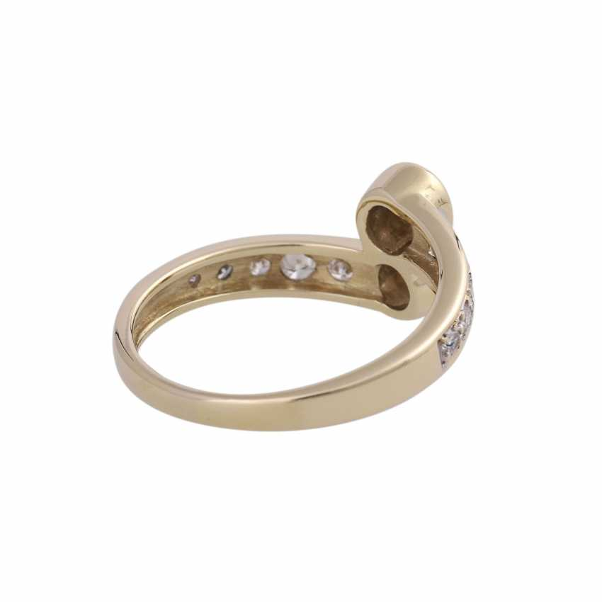 Ring-brilliant together approx. 0,85 ct - photo 3