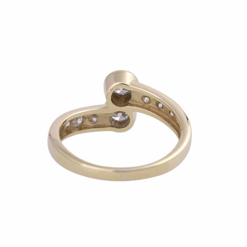 Ring-brilliant together approx. 0,85 ct - photo 4